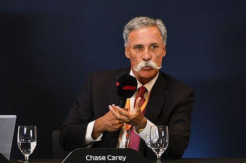 GP Cina: Carey ammette che non sarà facile trovare una data
