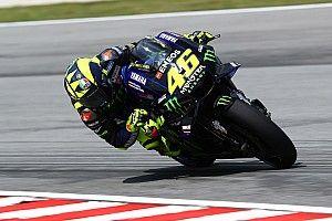 Rossi cieszył się z walki o podium