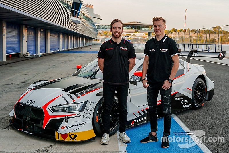 WRT Audi adds IndyCar racer to all-new DTM line-up