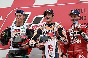 Motegi MotoGP: Marquez kazandı; Honda markalar, Quartararo çaylaklar şampiyonu oldu
