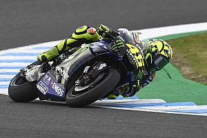 Rossi beleefde ook voor crash al 'hele moeilijke race'