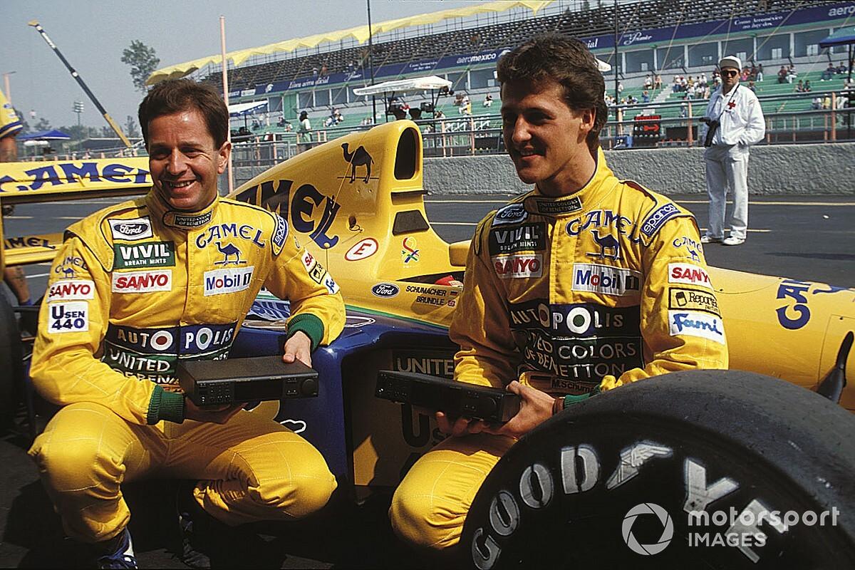 Ezt tudták felmutatni Schumacher csapattársai a Benettonnál: beszédes számok