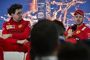 Ferrari: Binotto e Vettel... tubano parlando del futuro Rosso