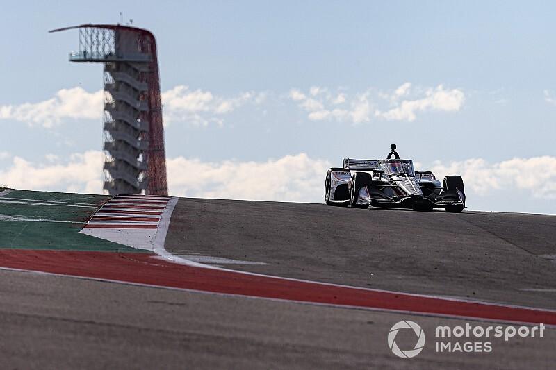 Foto's: Rinus van Kalmthout tijdens de IndyCar-training op COTA