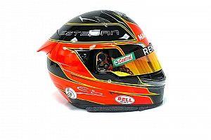 Ocon présente son casque 2020 avec Renault