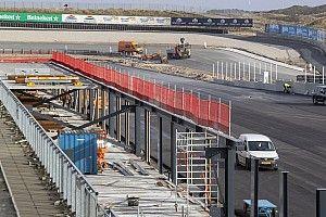 Update Zandvoort: Bandenstapels in Scheivlak, asfalt in F2-paddock