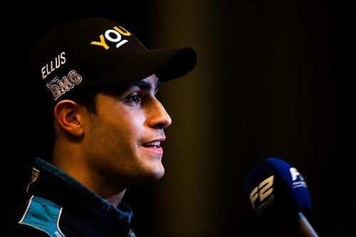 F2阿布扎比第一回合:塞特·卡马拉获胜,周冠宇登台