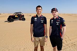A Red Bull nem várja Albontól, hogy legyőzze Verstappent