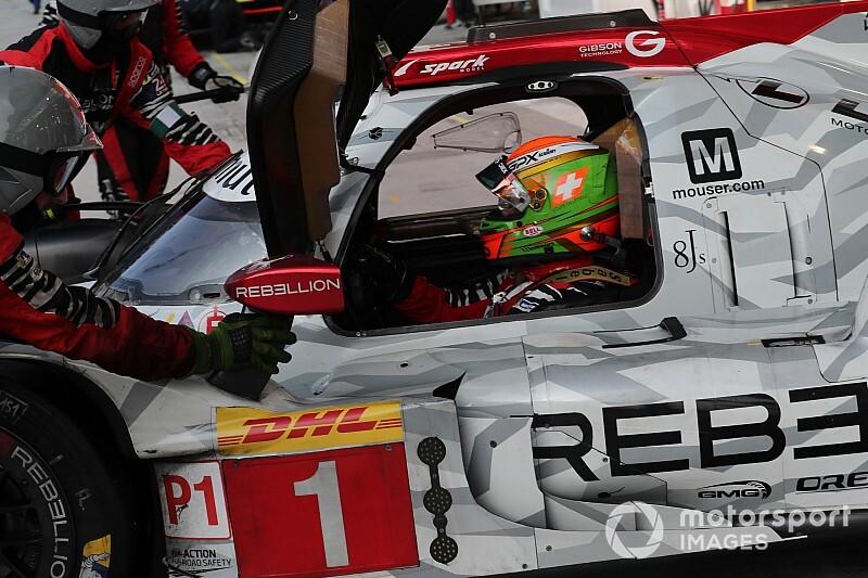 Louis Delétraz zufrieden mit seinem Speed im LMP1-Rebellion