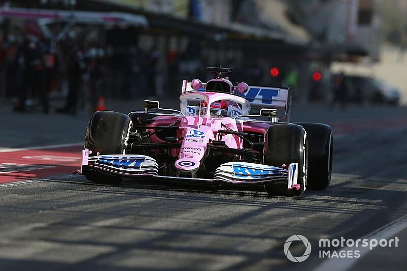 Перес почти на полсекунды превзошел Риккардо во второй день тестов Формулы 1