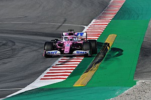 Perez leads second day of F1 test at halfway mark