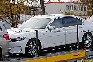 Először sikerült lefotózni a tisztán elektromos-hajtású 7-es BMW-t
