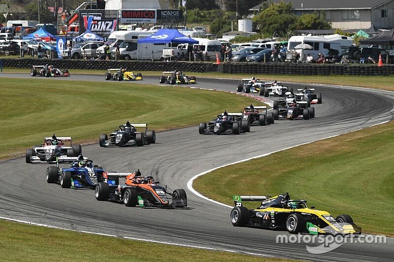 Collet e Fraga ao vivo: Assista à corrida 3 da etapa de Teretonga da Toyota Racing Series