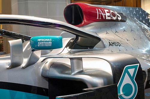 Así fue el vivo de la presentación del Mercedes 2020