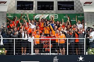 Festa de Sainz e McLaren tem pódio 'surreal' em Interlagos; veja