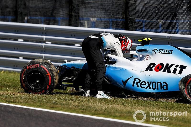 Robert Kubica kissé dühös: valami történt a Williamsnél, de mi?