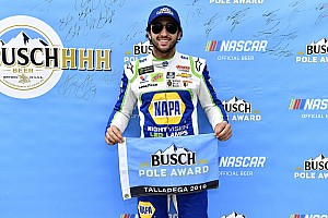 Chase Elliott wins Talladega pole as Hendrick goes 1-2-3-4