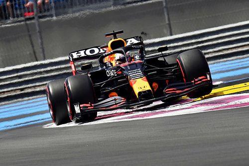 Verstappen asusta en la FP3 de Paul Ricard y Sergio Pérez es 4°