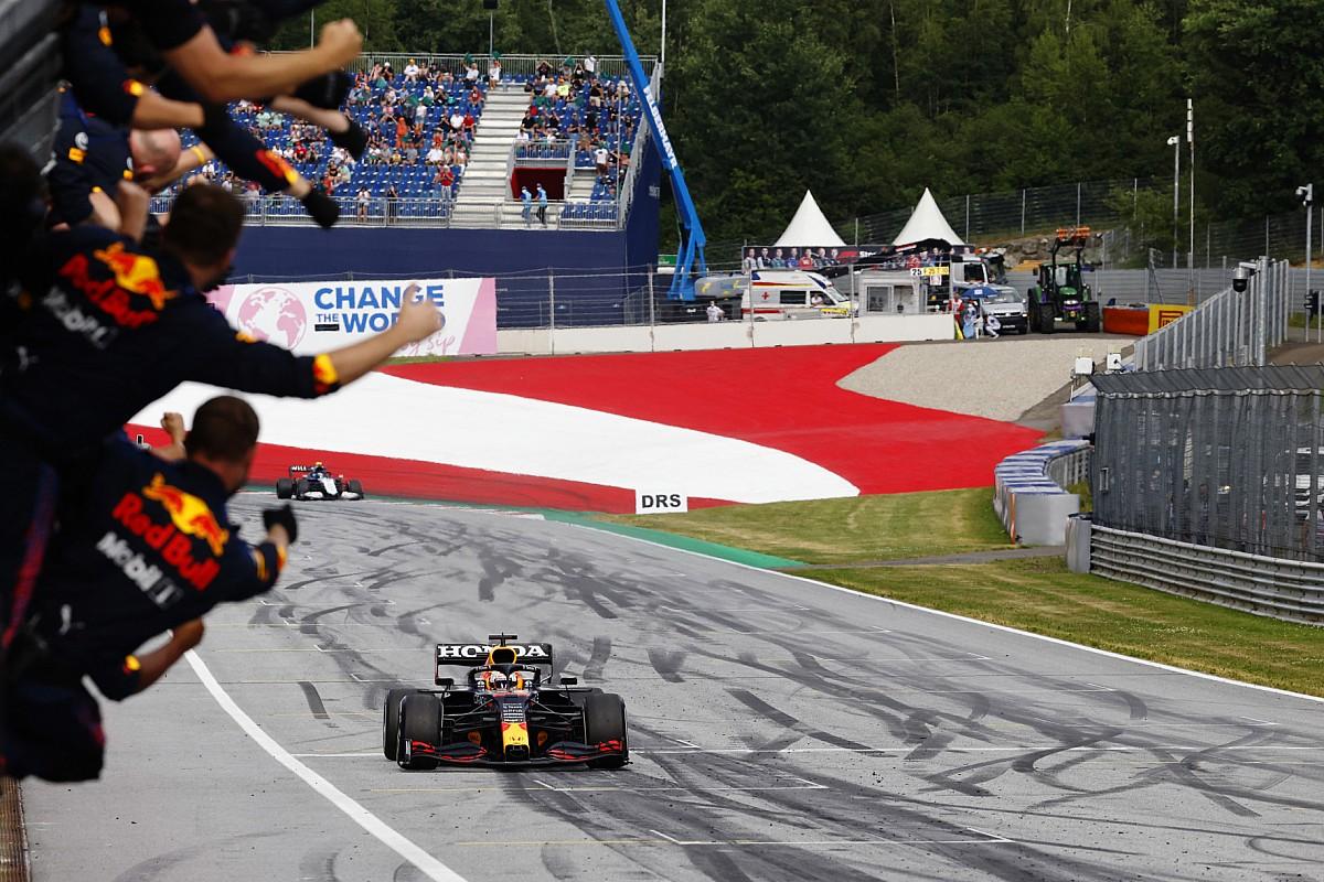 Steiermark GP: Verstappen ve Red Bull rahat kazandı!