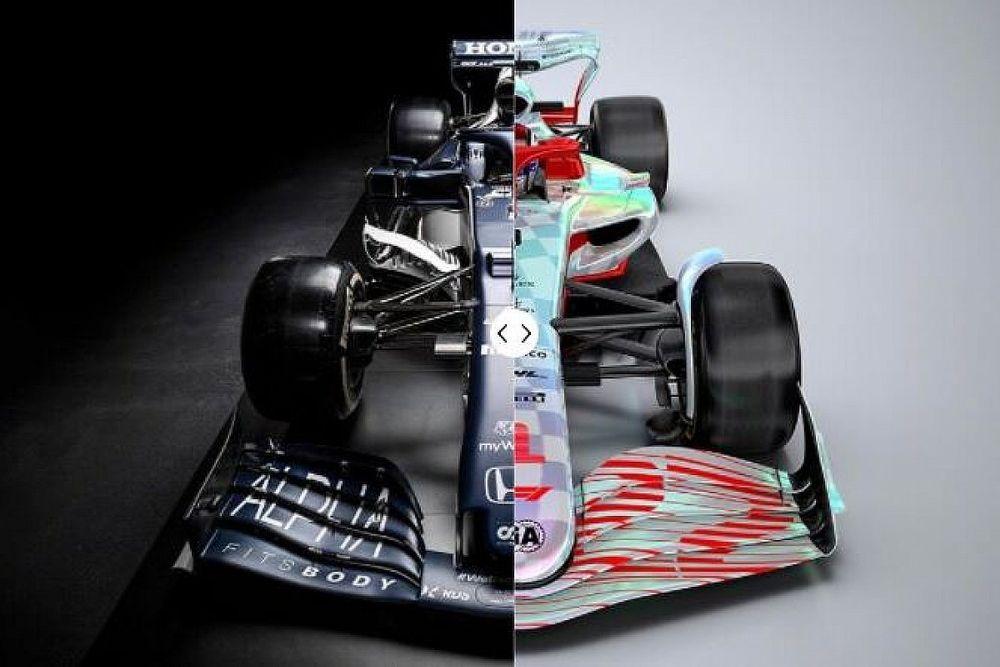 Lado a lado: compare os carros de 2021 e 2022 da F1