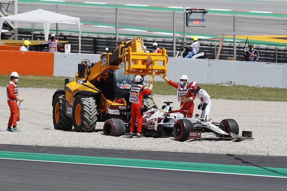 Kubica Jelaskan Kesalahannya pada FP1 F1 GP Spanyol