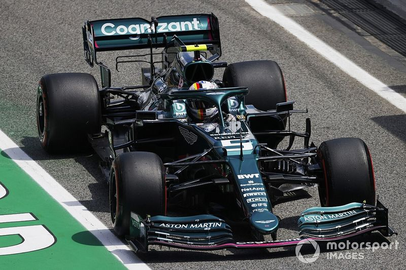 """Vettel """"more at home"""" with Aston Martin car after upgrades"""