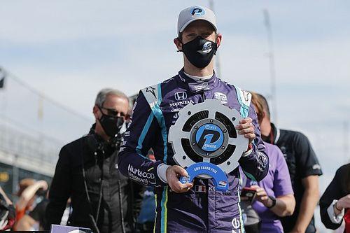 IndyCar Indy GP: Çaylak Grosjean ilk pole pozisyonunu kazandı!