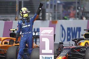 Red Bull impareggiabile, ma le Mercedes si sciolgono, Norris no