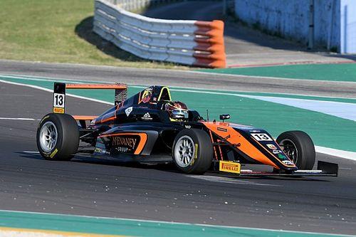 Formula 4: Dufek il più veloce nelle Libere 1 di Misano