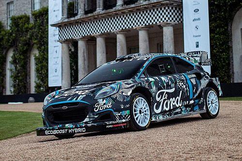 M-Sport dévoile le prototype Puma Rally1 WRC pour 2022