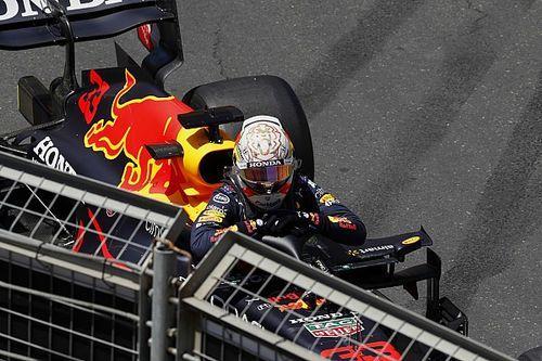 Gasly snelste in derde training Baku, Verstappen crasht