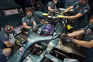 Aston modificará su color verde para que no se confunda con Mercedes