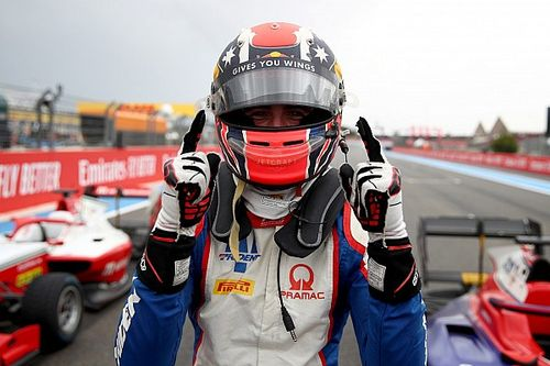 How the latest 'son of' youngster found his feet in F3