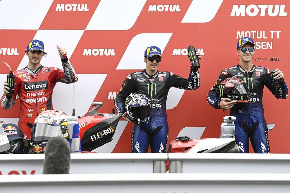 Assen MotoGP: Vinales, 2021'deki ilk pole pozisyonunu tur rekoruyla kazandı!