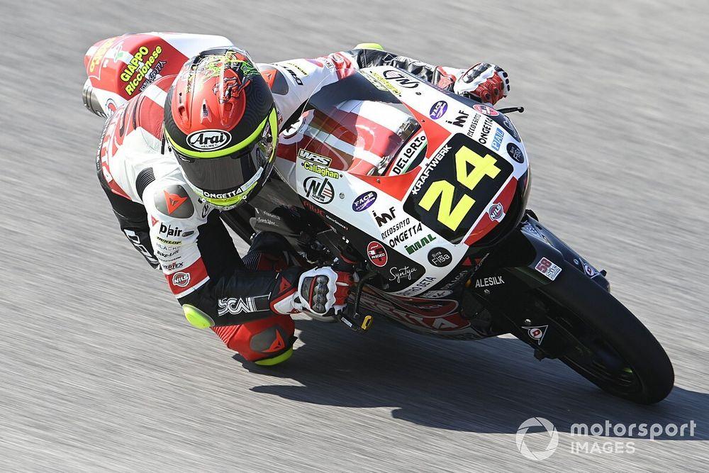 Moto3イタリア予選:鈴木竜生が今季2度目のPP獲得。クラッシュ発生でセッションは赤旗終了
