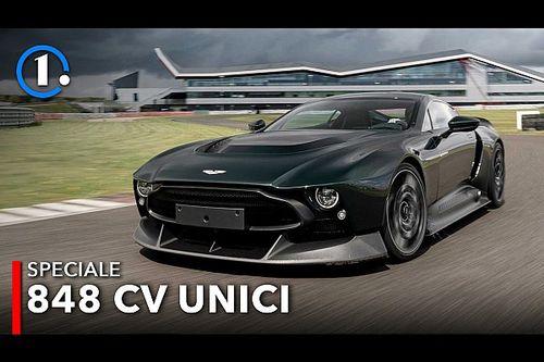 Aston Martin Victor, la prova dell'Aston unica al mondo