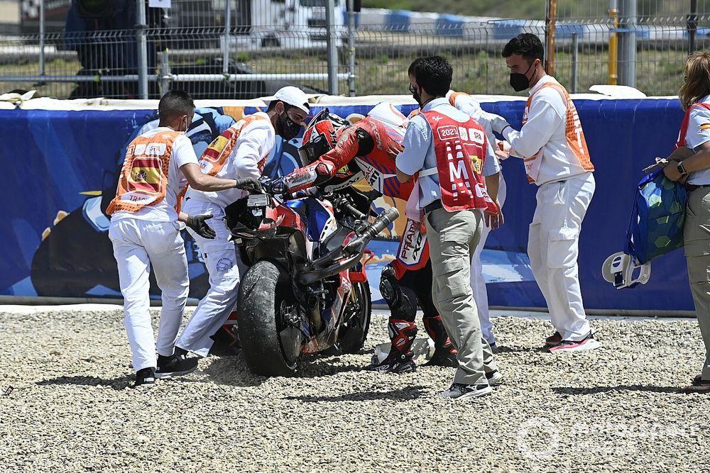 MotoGP: Pilotos questionam área de escape da Curva 7 em Jerez
