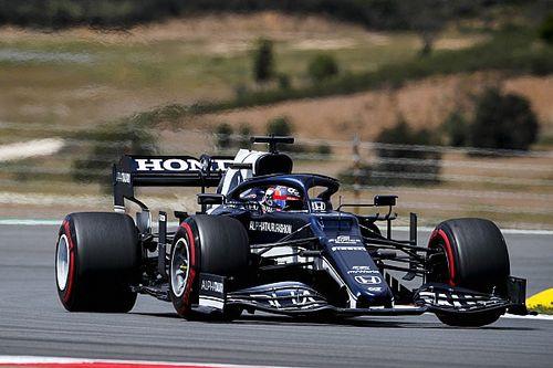 F1ポルトガルFP2速報:ハミルトン首位、フェルスタッペン2番手。角田14番手
