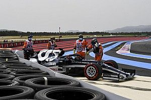 Las fotos más impresionantes de la clasificación del GP de Francia
