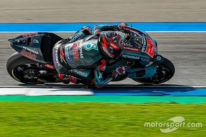 Thailand MotoGP: Quartararo bags pole despite crash
