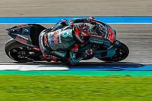 Thailand MotoGP: Quartararo bags pole despite crash