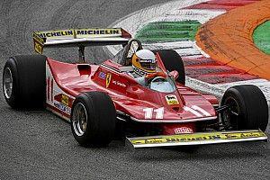 Photos - Scheckter fête son titre 1979 avec la Ferrari 312 T4