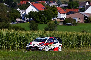 Germany WRC: Tanak, Neuville in early breakaway