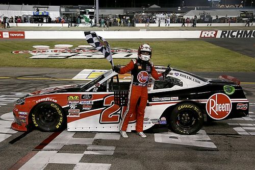 Christopher Bell dominates Xfinity playoff opener at Richmond