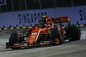 Leclerc brilha em Singapura e conquista terceira pole seguida