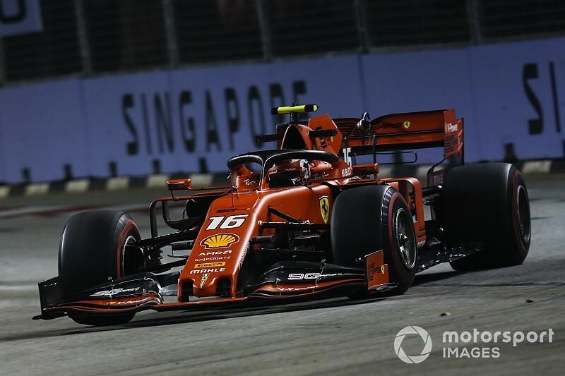 F1, Singapore, Libere 3: sorpresa Leclerc!