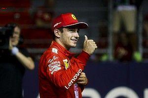 """Leclerc na pole Singapore: """"Dacht constant controle te verliezen"""""""