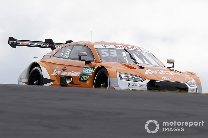 Green in pole position per Gara 2 al Nürburgring, Rast allunga