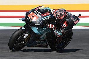 Quartararo lidera la 3° práctica en Misano