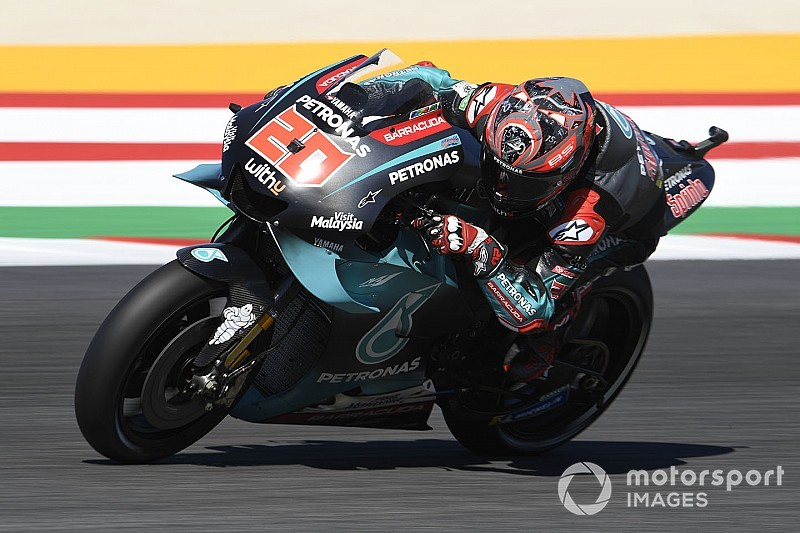 Quartararo imponeert in derde training, Ducati worstelt